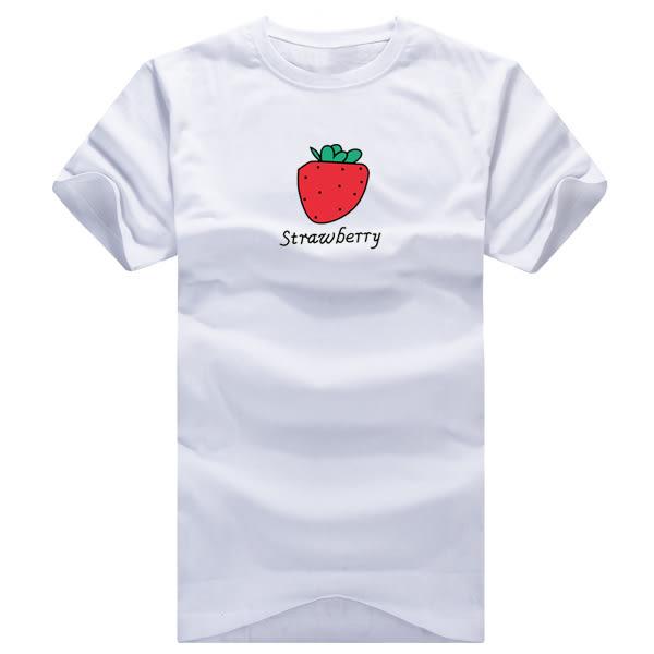 24小時快速出貨  潮t 情侶裝  純棉短T MIT台灣製 KUSO 甜美水果T【YC035】可單買 班服 團體服