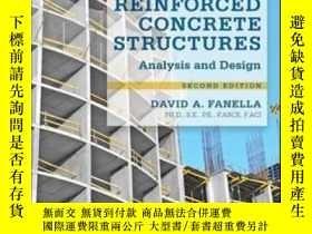 二手書博民逛書店Reinforced罕見Concrete Structures: Analysis And Design Seco