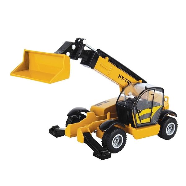 HY TRUCK華一 6012-8高空送料機 工程合金車模型車 運送車(1:60)【楚崴玩具】