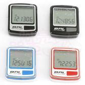 *阿亮單車*ECHOWELL 5功能有線碼表NEW BRI-5(黑、銀、紅、藍四色可選)《B33-572》
