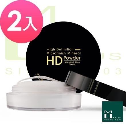 【南紡購物中心】MOMUS HD-微晶礦質蜜粉 7g ( 2入 )