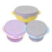 吸盤碗 防滑防摔吸盤碗 (粉色/藍色/黃色) 雙耳學習碗 寶寶學習餐具 RA1001 好娃娃