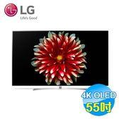 LG 55吋4KHDROLED智慧聯網電視 OLED55B7T