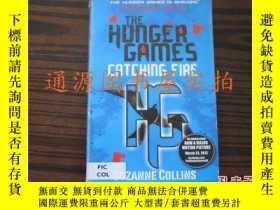二手書博民逛書店英文書:THE罕見HUNGER GAMES CATCHING F