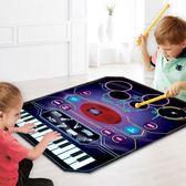 早教爵士架子鼓電子琴音樂毯女男孩樂器寶寶玩具禮物初學者 熊熊物語