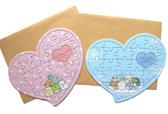 【卡漫城】 角落生物 拼圖 卡片 二入一組 ㊣版 台灣製  愛心 萬用卡 生日 賀卡  告白 小夥伴 卡通