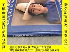 二手書博民逛書店Pueblo罕見Boy: Growing Up in Two Worlds 普韋布洛男孩:在兩個世界長大 精裝英文