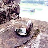 戶外復古懷錶專業指南針禮品掛件金屬不銹鋼高精度便攜指北針   伊鞋本鋪