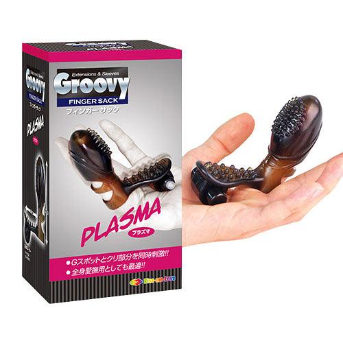 【PLASWA】日本LoveCloud Groovy系列 顆粒震動刺激手指套