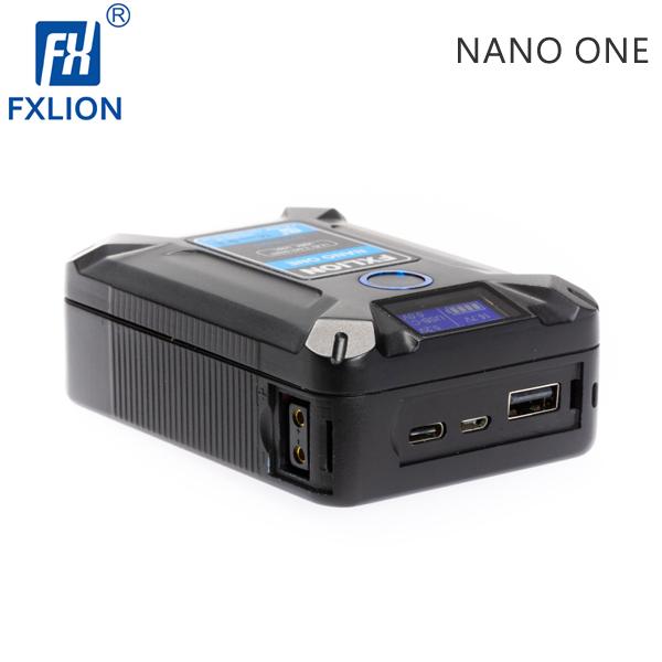 EGE 一番購】Fxlion【NANO ONE】50Wh 掌中型V掛鋰電池 多供電選擇 D-tap Type-C USB