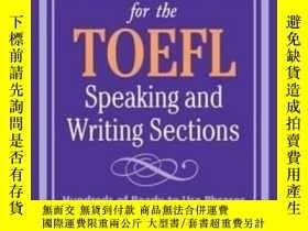 二手書博民逛書店Perfect罕見Phrases For The Toefl Speaking And Writing Secti