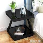 床頭柜簡約現代臥室收納小桌子創意置物柜床頭小柜組裝簡易床邊柜QM『摩登大道』