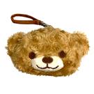 【日本正版】小熊 絨毛 零錢包 吊飾 小物收納 熊熊 Heart Friends - 087053