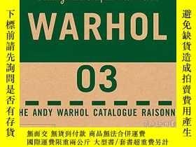 二手書博民逛書店The罕見Andy Warhol Catalogue Raisonne, Paintings and Sculpt