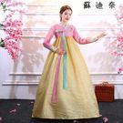 韓服宮廷傳統舞蹈服裝表演服飾女...