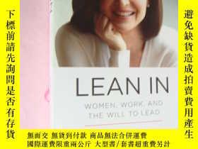 二手書博民逛書店LEAN罕見IN:Women,work,and the will