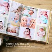 5寸相冊本大容量皮質插頁式家庭寶寶影集橫豎版五寸塑封照片700張  居家物語