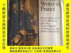 二手書博民逛書店The罕見Artist and Writer in France