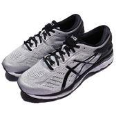 Asics 慢跑鞋 Gel-Kayano 24 4E 超寬楦頭 銀 黑 透氣穩定 高支撐系列 運動鞋 男鞋【PUMP306】 T7A1N9390