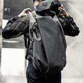 雙肩包男士時尚潮流背包正韓個性書包男運動休閒電腦旅行包【免運】