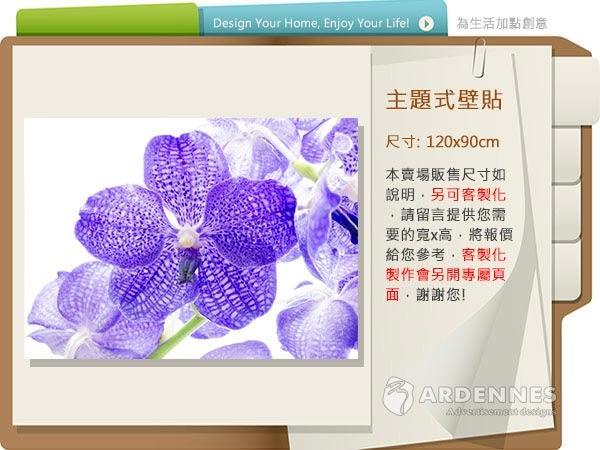 【ARDENNES】防水壁貼 壁紙 牆貼 / 霧面 亮面 / 草原花卉系列 NO.F133-Z