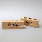 3孔試管架 孔徑25mm 木製試管架 玻璃試管