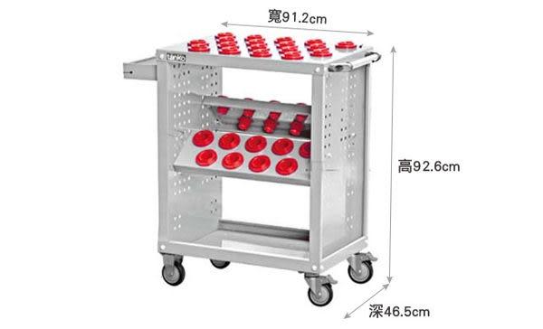 【nicegoods】專業CNC刀具車(含刀套)(DIY商品)(作業架 作業車 工具車)