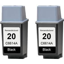HP 黑色C6614A /NO20號!!亮黑高品質進口相容副廠墨水匣(2019/01到期)
