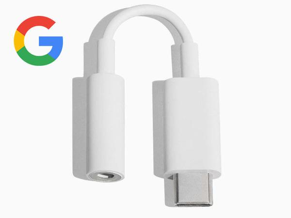 谷歌 Google手機轉接頭 pixel2/3/plxel4XL耳機適配器 USB-C音頻設備 原廠 OTG 轉接器