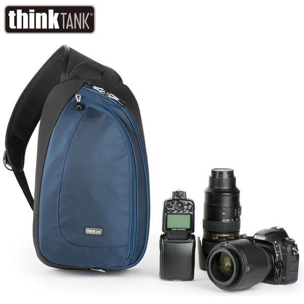 【thinkTank 創意坦克】TurnStyle 20 V2.0 翻轉包-大(藍色) TTP710467 公司貨