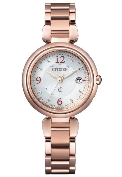 29mm 【分期0利率】星辰錶 CITIZEN XC 玫瑰金 電波錶 光動能 原廠公司貨 ES9468-51A