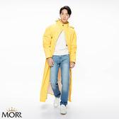 【MORR】Dimensional前開雨衣 【經典黃】快速穿脫/機車雨衣/連身雨衣/通勤/機車