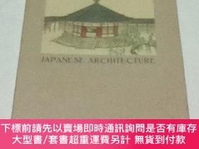 二手書博民逛書店英文)日本の建築罕見Japanese architecture (Tourist Library No.7)Y