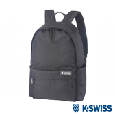 K-SWISS Poly Backpack時尚後背包-黑