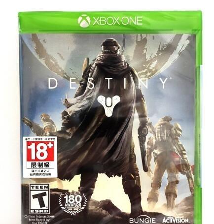 Xbox One 天命 Destiny 實體 英文版 全新沒拆 出清