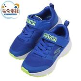 《布布童鞋》SKECHERS_GORUN_CONSISTENT個性透氣藍黃色兒童機能運動鞋(17~23公分) [ N1B016B ]