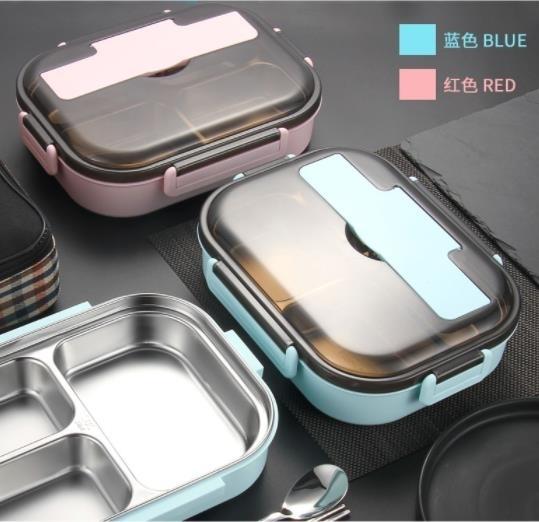 便當盒 304不銹鋼飯盒便當盒保溫學生食堂分格高中便攜分隔型上班族餐盒 零度3C
