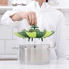 蓮花型蒸籠可折疊水果盤蒸格家用...