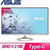 【南紡購物中心】ASUS 華碩 MX27UCS 27型 IPS 4K 液晶螢幕《冰柱金》