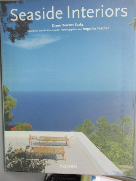 【書寶二手書T1/設計_ZCC】Seaside Interiors / Interieurs De La Cote / Hauser