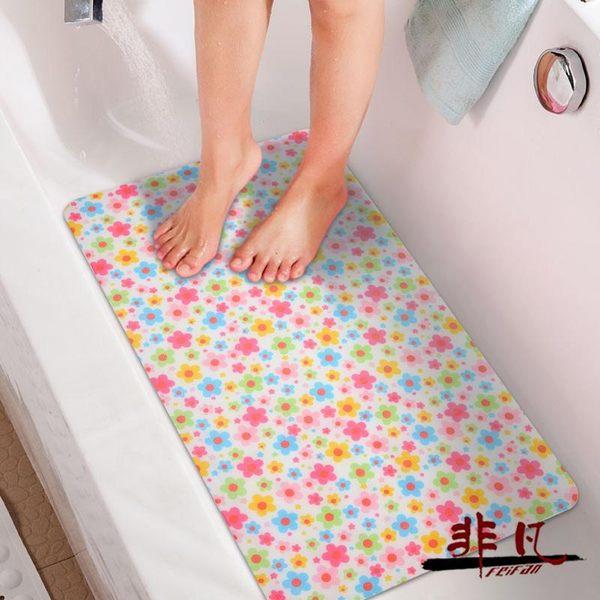 新款防雨布卡通兒童洗澡墊浴室防滑墊衛生間地墊衛浴淋浴房腳墊【99元專區限時開放】TW
