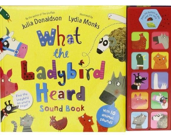What The Ladybird Heard Sound Book 小瓢蟲聽見了什麼? 精裝有聲故事書