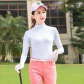 TTYGJ 高爾夫服裝春夏季防曬衣 女款冰絲打底衫 長袖球服 英雄聯盟