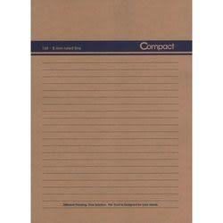 《☆享亮商城☆》AO1004-藍2 compact 16K牛皮筆記-藍 美加美