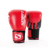 【岱宇國際Dyaco】SPIRIT高級拳擊手套-10 OZ -紅