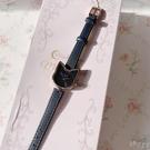 美少女戰士日本限定露娜luna小貓細錶帶黑貓日本原裝機芯腕錶手錶 小時光生活館