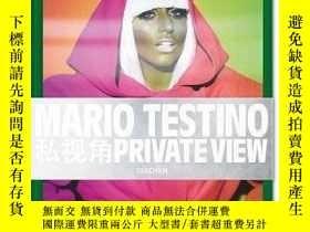 二手書博民逛書店Mario罕見Testino: Private ViewY237948 Mario Testino(Photo