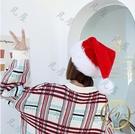 聖誕髮飾 長毛絨圣誕帽兒童成人毛絨帽圣誕禮物禮品圣誕帽子圣誕節裝飾品耶誕節