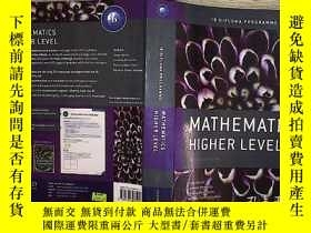二手書博民逛書店MATHEMATICS罕見HIGHER LEVEL【附光盤】.Y