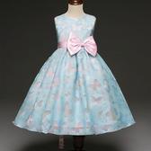 女童中小童公主裙兒童主持演出連衣裙六一表演裙花童禮服裙子 - 歐美韓熱銷